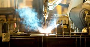 robot laser cutting metal piece assembly welding passivating weldments
