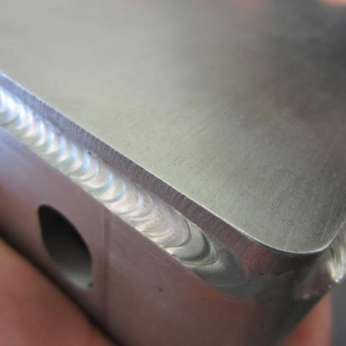 welded metal