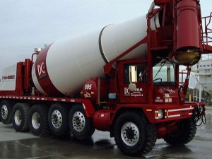 cement mixer construction truck supply chain box truck delivery logistics geometric tolerancing