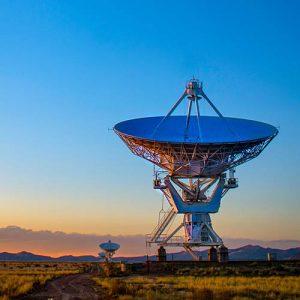 telecommunications satellite dish, radar