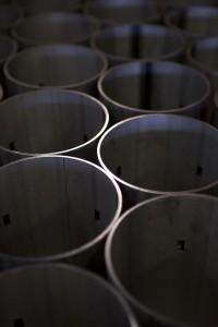 cylinders of metal
