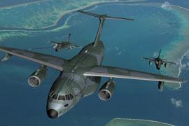 air plane defense